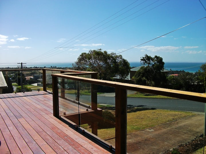 Take in the view at Buckley's Lookout