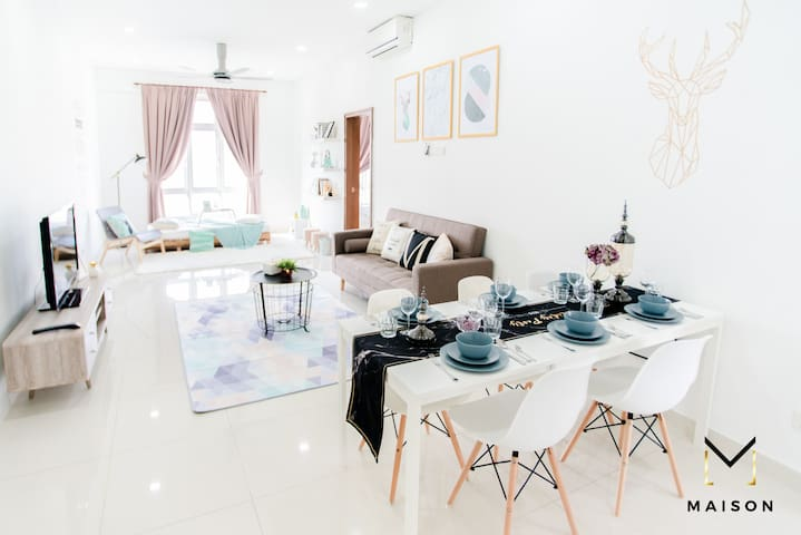 Instagram worthy homestay with magnificent KLCC / KL City view