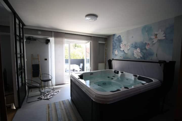 Villa Faby, Jacuzzi et Sauna privatif
