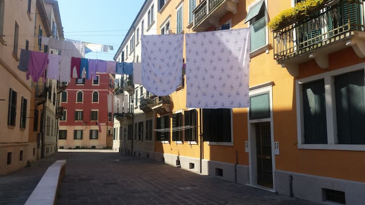 Flat for holidays in Venice -City Center, S. Marta