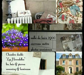 """La Cantellerie """"Les Hirondelles"""", Mer à pied - Courseulles-sur-Mer - Bed & Breakfast"""