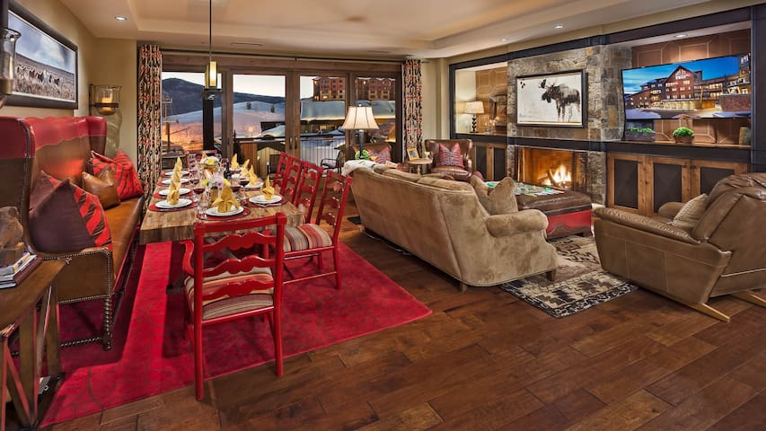 4 bedroom - Guadalupe Mtn - Ski in/Ski out - Steamboat Springs - Condominium