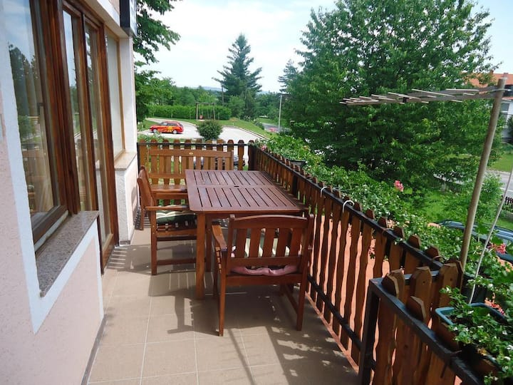 Two bedroom apartment with terrace Grabovac, Plitvice (A-17531-a)