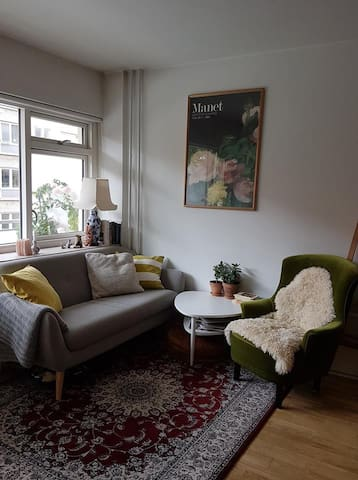 Lovely apartment in the charming area of Nørrebro