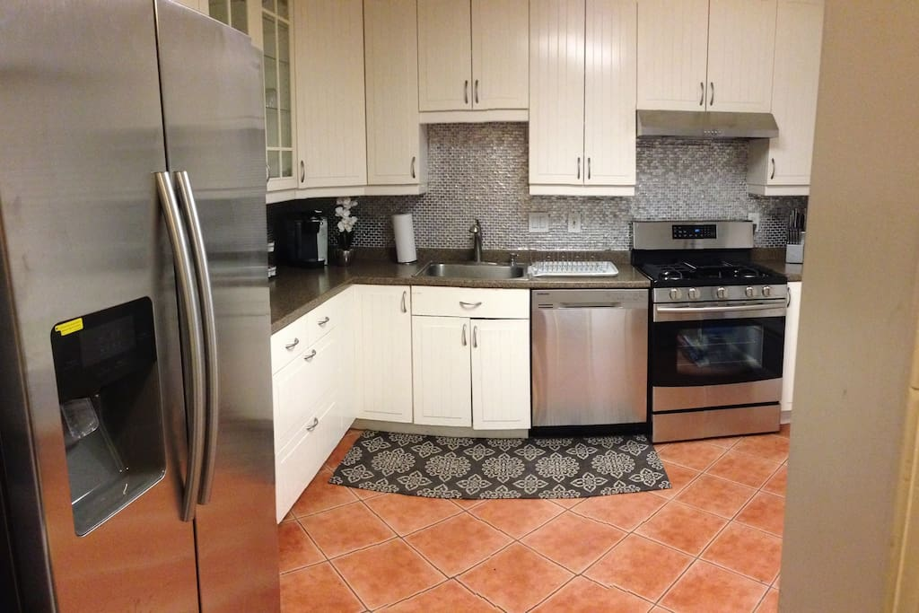 All Samsung Stainless Steal Appliances.