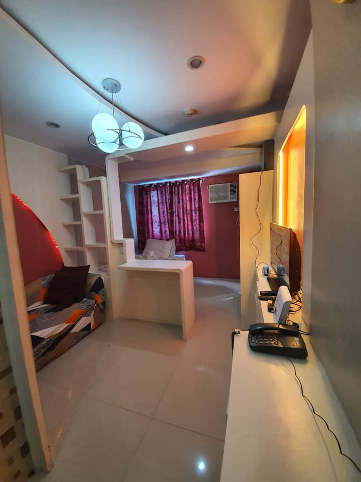 Studio unit @tower A with fast wifi #05