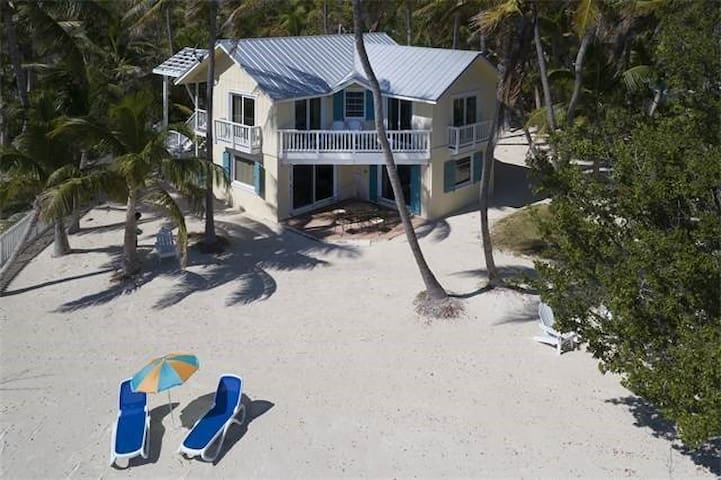 Beach House on large private lot