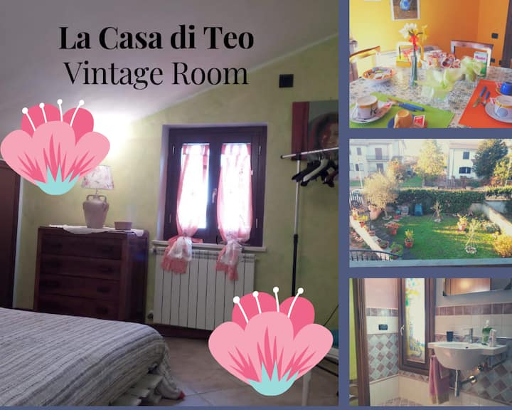 Vintage room - Camera privata con bagno