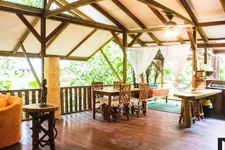 Caribbean Jungle Beach House - Puerto Viejo de Talamanca - Dům na stromě