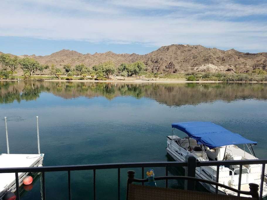 View NW Across Colorado River