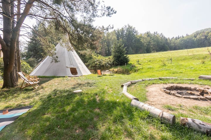 ☼The Ti-Pi☼ Relaxing Natural Experience for 8 pax