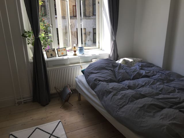 Simple double room in nørrebro