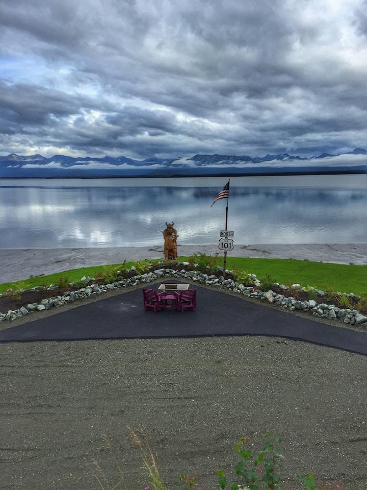 Cabin on an Alaskan Beach