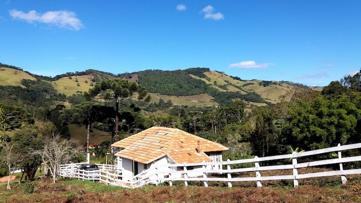 Typical Minas Gerais' country house from the '60s