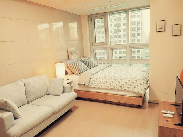 BK House Myeongdong(1min metro+4G wifi egg) - Sėoul - Appartement