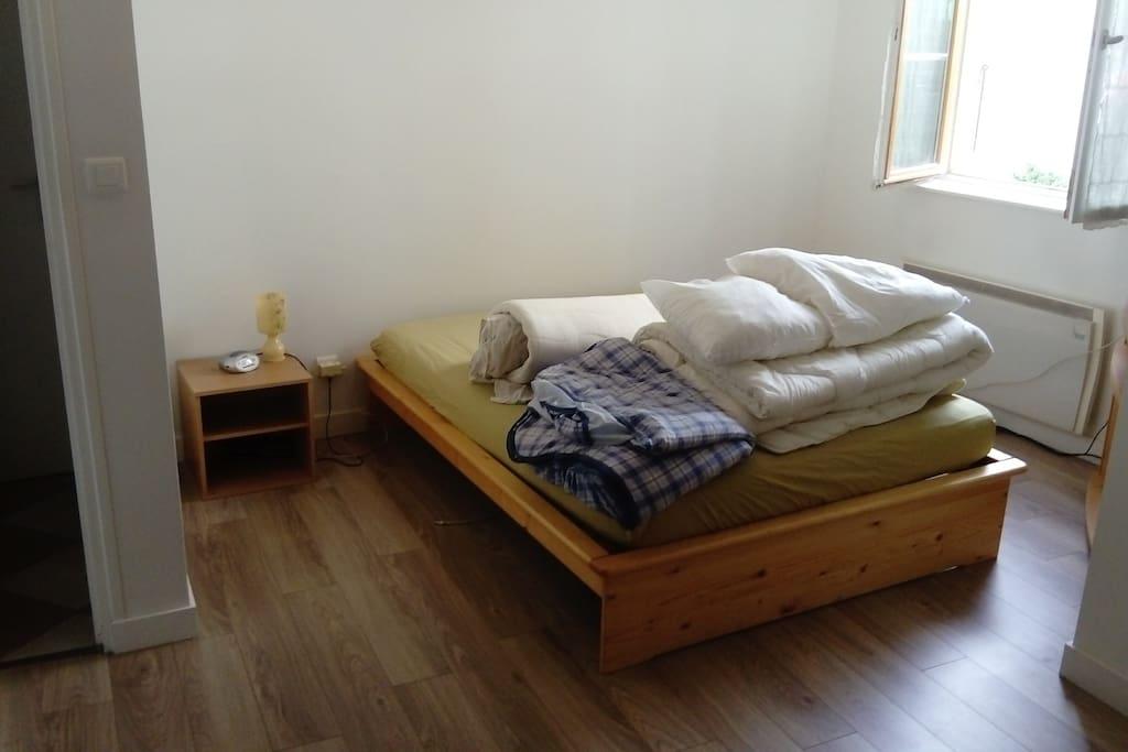 Chambre avec matelas d appoint supplémentaire