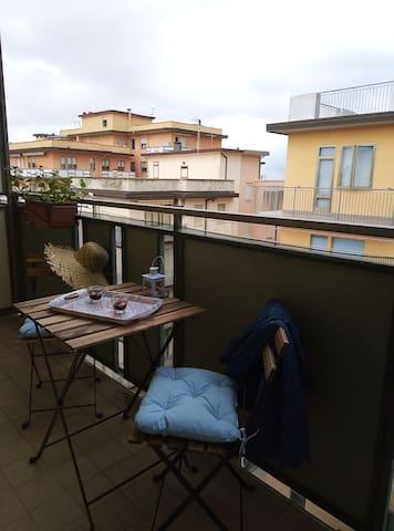 Апартамент Марция с безплатен чадър и шезлонг
