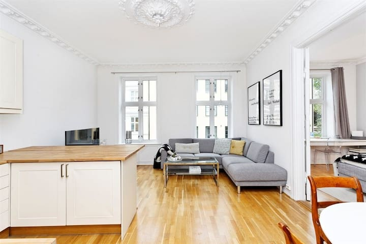 Elegant and spacious apartment in central Oslo!