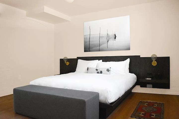 King Suite in Boutique Hotel