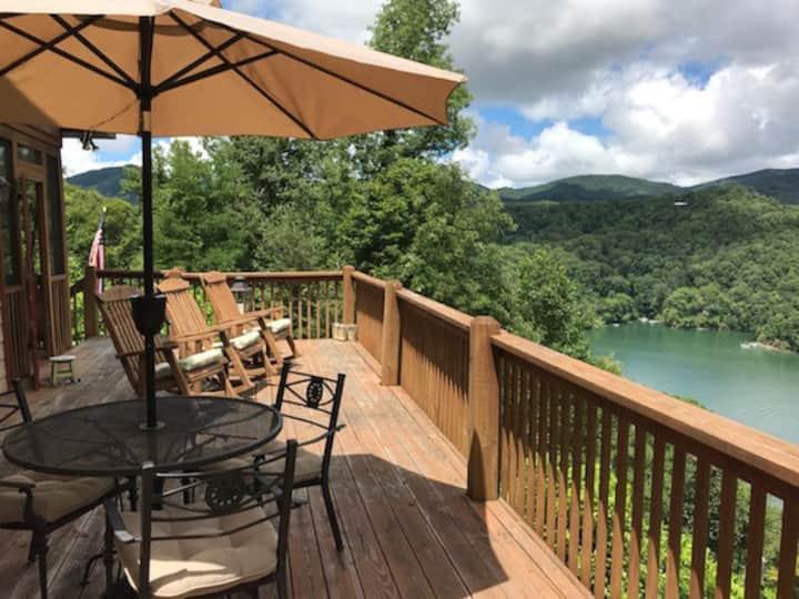 Lake Nantahala Mountain House