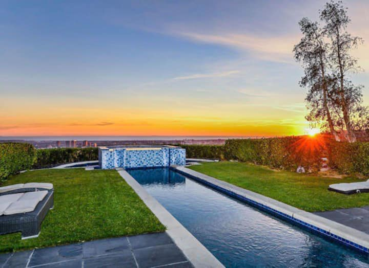 Villa Fortress,one of a kind Hollywood Hills Home.