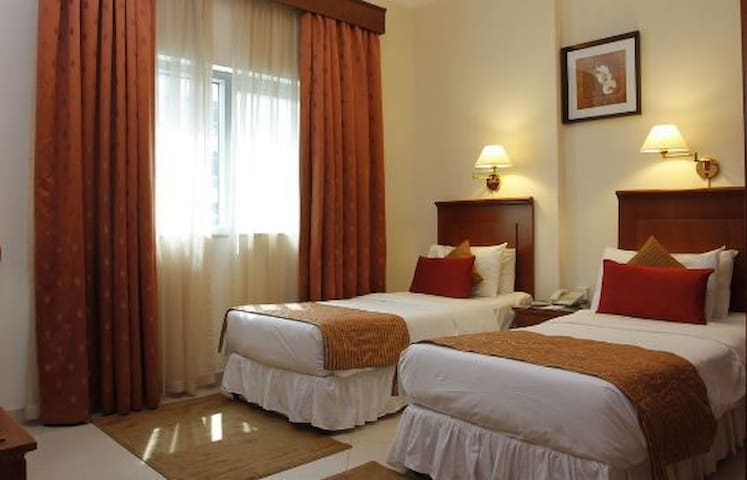 Shared room or Separate bed in Living Hotel Room