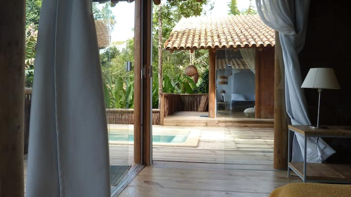 Soleluna.   Bungalows with private pool