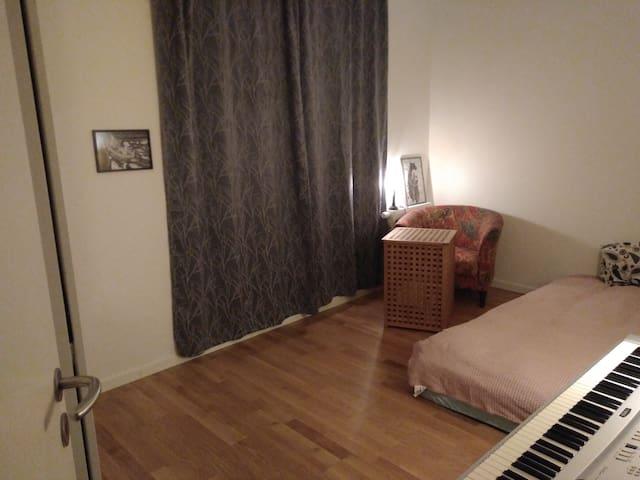 un-Copenhagenly spacious room