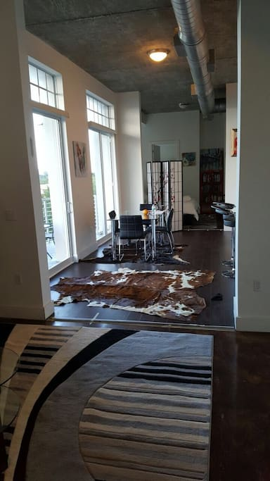 Charming New 2  2br Loft Private Luxury Clean Room
