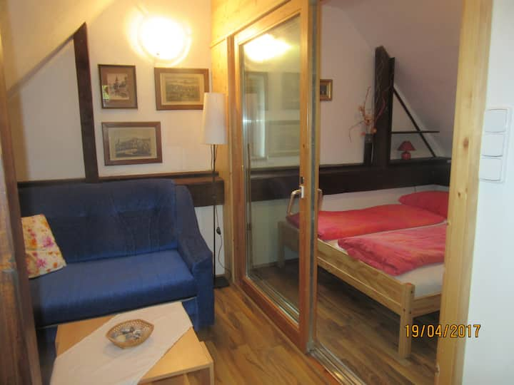 Cheap apartman in the centre of Cesky Krumlov