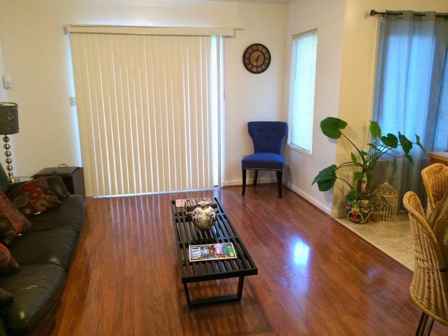 Beautiful spacious living room area for your enjoyment.