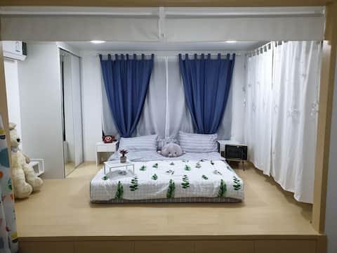 84/225 Icondo Salaya - Minimal JP style room