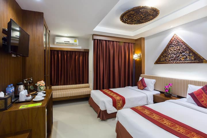 Superior Double or Twin Bed Thai Style in Patong