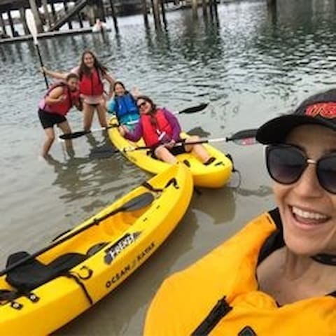 Kayaking in Dana Point