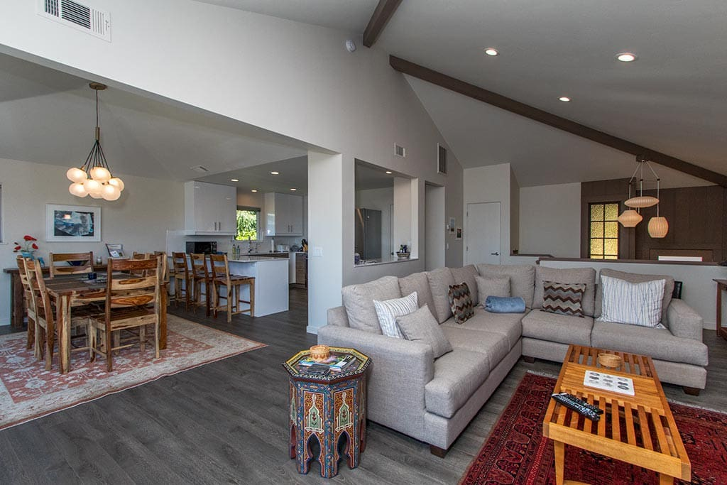 Recently remodeled,  Treasure Cove is stylish and comfortable.