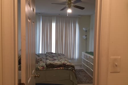 Private, Secure Guest Bedroom & Bathroom