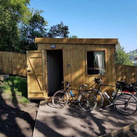 Bike friendly accommodation