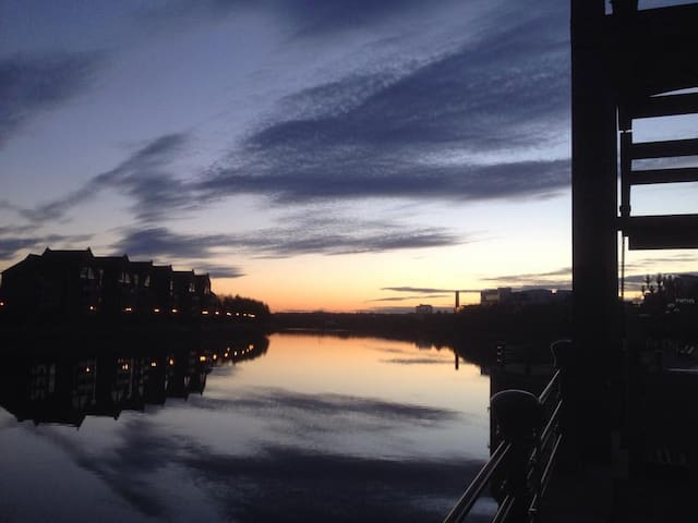 A pic I took of the Lagan river a short distance from my house