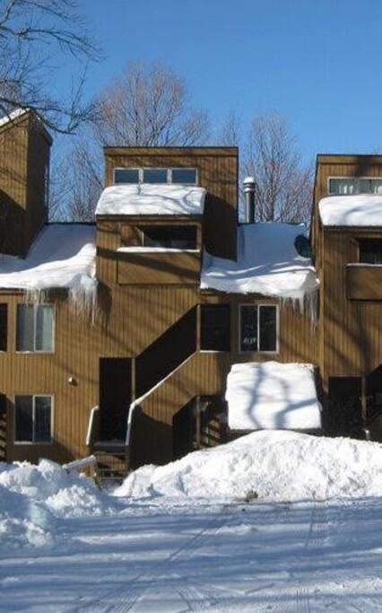 Winter at the condo