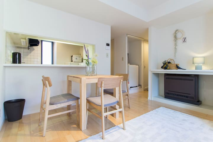 Modern Apt. Super Close to Shibuya! #9 - Meguro-ku - Appartement