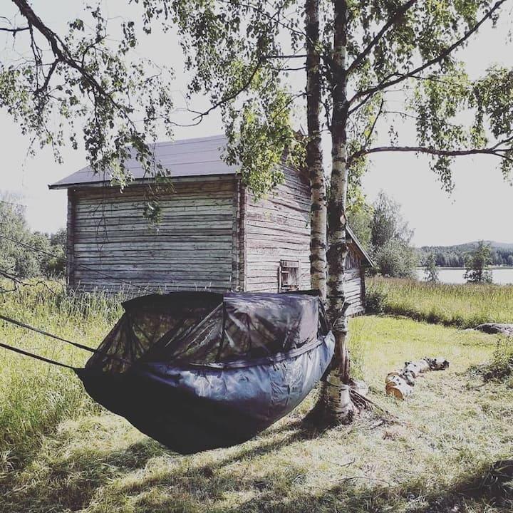 Herajärven retkeilykeskus - Kiviniemi, riippumatto