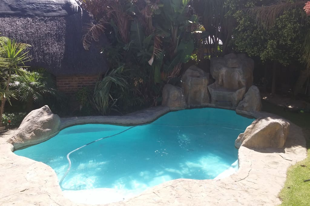 Sparkling pool available