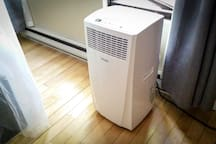 Your own individual heater and air conditioning for perfect personal comfort!