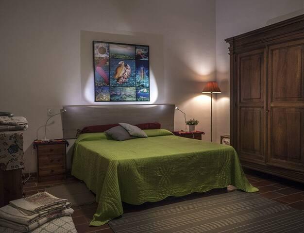Sleeping bedroom for 2 guests