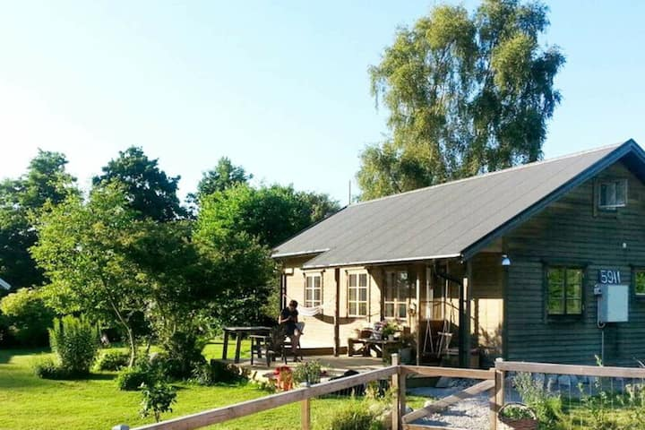 5 person holiday home in SÖLVESBORG