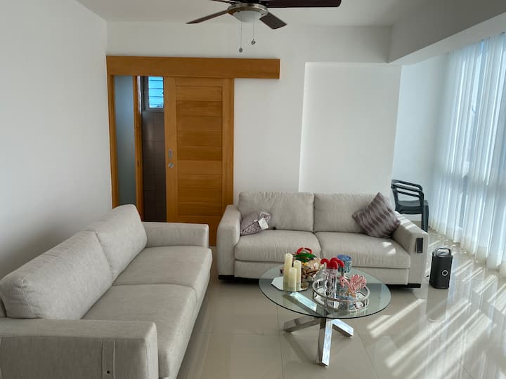 Cozy apartment with great view in Santo Domingo