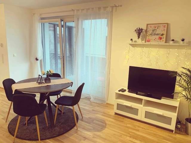 Self check-in Flat near Hauptbahnhof and Belvedere