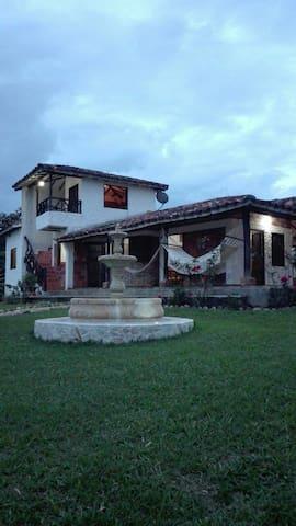 Casa Campestre. ''Villa del Rosario''