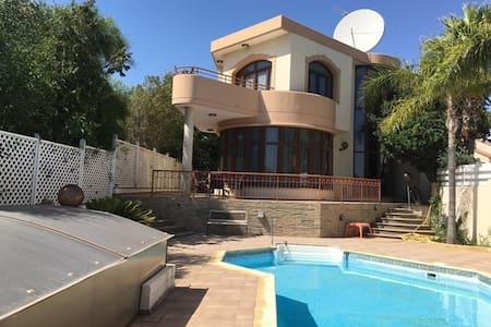 Meridien Luxury 4 bedroom villa - Pyrgos(Tourist area)