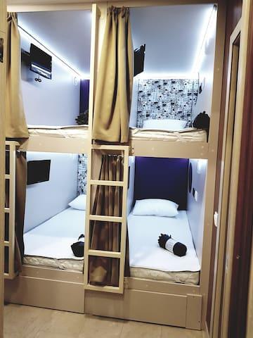 Хостел КУПЕ с самым удачным расположением